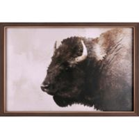 Buffalo 25-Inch x 37-Inch Canvas Wall Art