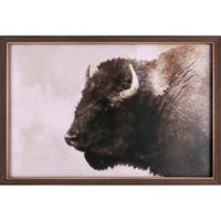Buffalo 25-Inch x 37-Inch Canvas Wall Art