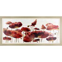 """ArtMaison Canada """"Sprinkled Flower"""" Framed Print Wall Art"""
