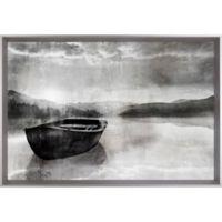 Boat Shadow 25.5-Inch x 37.5-Inch Canvas Wall Art