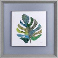 """ArtMaison Canada """"Leaf II"""" Framed Print Wall Art"""