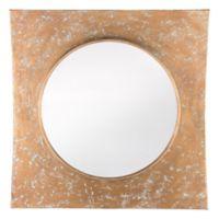 Zuo® Cuadrado Mirror in Gold