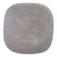 Square Granite 20-Inch Plaque in Light Grey