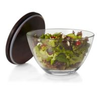 Libbey® Urban Story Extra-Large Glass Bowl with Wood Lid