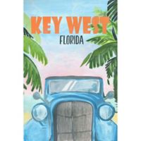 Marmont Hill Key West Poster 12-Inch x 18-Inch Canvas Wall Art