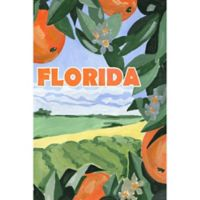 Marmont Hill Somewhere in Florida 20-Inch x 30-Inch Canvas Wall Art