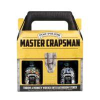 Poo-Pourri® Before-You-Go® Master Crapsman Odor Eliminating Set