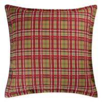 Kellyn European Pillow Sham in Red/Green