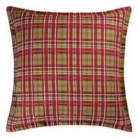 Kellyn European Pillow Sham in Red/Green
