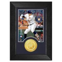 MLB Carlos Correa Bronze Coin Mini Photo Mint
