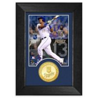 MLB Salvador Perez Bronze Coin Mini Photo Mint