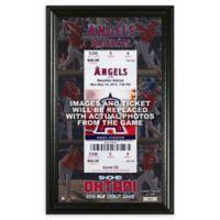 MLB Shohei Ohtani Home First Home Game Ticket Wall Decor