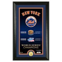 "MLB New York Mets ""Legacy"" Supreme Bronze Coin Photo Mint"