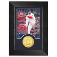MLB Corey Kluber Bronze Coin Mini Photo Mint
