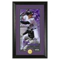 MLB Nolan Arenado Supreme Bronze Coin Photo Mint