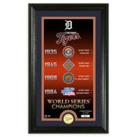 "MLB Detroit Tigers ""Legacy"" Supreme Bronze Coin Photo Mint"
