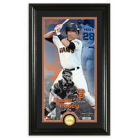 MLB Buster Posey Supreme Bronze Coin Photo Mint