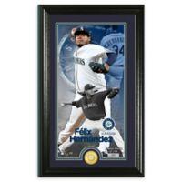 MLB Felix Hernandez Supreme Bronze Coin Photo Mint