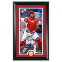 MLB Yadier Molina Supreme Bronze Coin Photo Mint