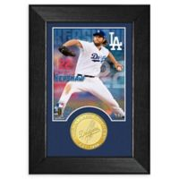 MLB Clayton Kershaw Bronze Coin M-Series Photo Mint