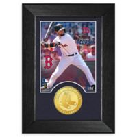 MLB Dustin Pedroia Bronze Coin M-Series Photo Mint