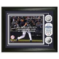 MLB Giancarlo Stanton 1st Home Game Photo Mint