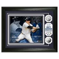 MLB Brett Gardner Bronze Coin Photo Mint