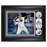 MLB Gary Sanchez Bronze Coin Photo Mint
