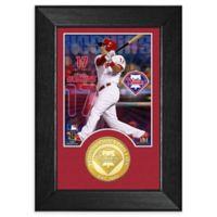 MLB Rhys Dean Hoskins Bronze Coin M-Series Photo Mint