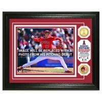MLB Shohei Ohtani MLB Pitching Debut Bronze Coin Photo Mint