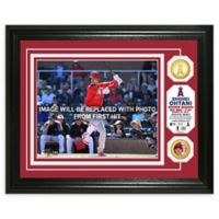 MLB Shohei Ohtani First Major League Hit Bronze Coin Photo Mint