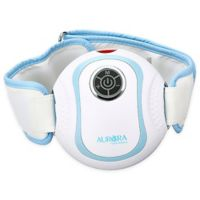Aurora Health and Beauty® Vibrating Massage Belt in White