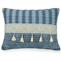 Jax Horizontal Channel Standard Pillow Sham in Blue