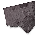 Microdry® Ultimate Performance THE ORIGINAL Memory Foam 17-Inch x 24-Inch Bath Mat in Charcoal