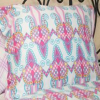 American Colors Emily Madison Standard Pillow Sham in Pink/Purple