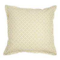 Adrienne Meadow European Pillow Sham in Green