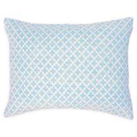 Carol & Frank Talley Standard Pillow Sham in Blue