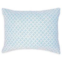 Carol & Frank Talley Standard Pillow Sham in Blue
