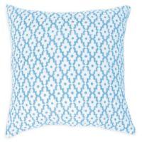 Carol & Frank Talley European Pillow Sham in Blue