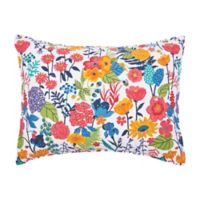 Carol & Frank Quinn Standard Pillow Sham in Blue