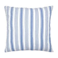 Carol & Frank Garrett European Pillow Sham in Blue