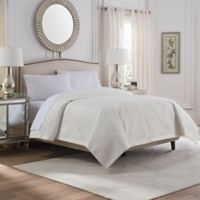 Valeron Caruso Full/Queen Coverlet in White