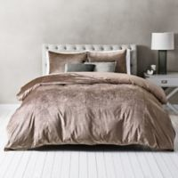 Wamsutta® Velvet Twin Duvet Cover Set in Blush