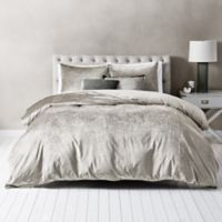 Wamsutta® Velvet King Duvet Cover Set in Stone
