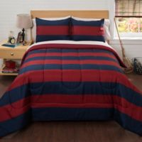 American Kids Rugby Stripe 2-Piece Comforter Set