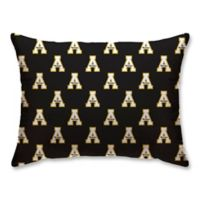 Appalachian State University Plush Repeating Logo Bed Pillow