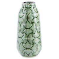 Zuo® Modern Ventra Medium Ceramic Vase in Green