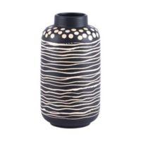 Zuo® Modern Niger Small Ceramic Vase in Black/White