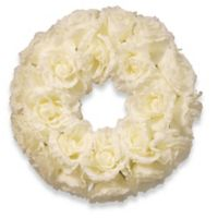 National Tree Company® 17-Inch Artificial Rose Wreath