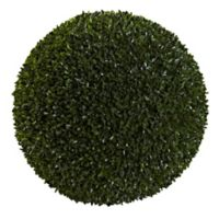 Nearly Natural 19-Inch Artificial Boxwood Ball